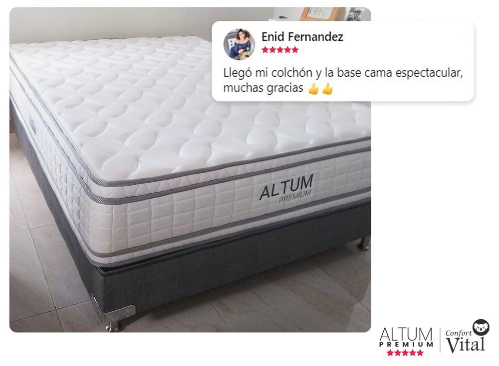 Testimonio Altum Premium Confort Vital